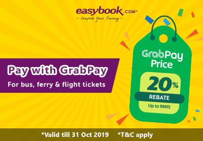 LATEST EasyBook Promo & Discount Code Malaysia 2019