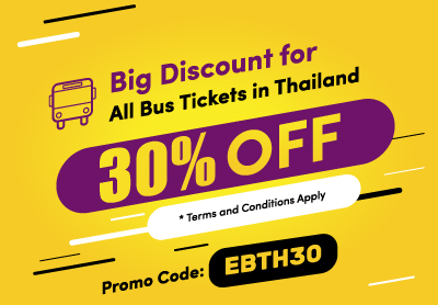 bb920b6f20 BIG 30% Discount for all bus tickets in Thailand!