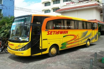 Bus dari Kediri ke Denpasar